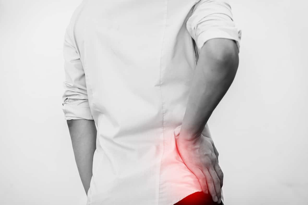 Starke Stauchungs- und Rotationsschmerzen?